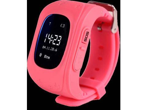 Детские смарт-часы Smart Watch Q50 с GPS трекер Pink (in-112)