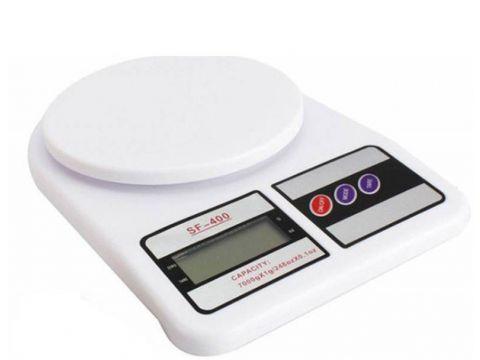 Электронные кухонные весы 7 кг MKS - 400 + Батарейки (34003)