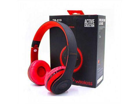 Наушники Monster Beats Solo2 Wireless TM-019 Black Red (au001-hbr)