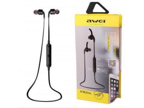 Наушники беспроводные Bluetooth с микрофоном Awei A960BL Золотые (009994)