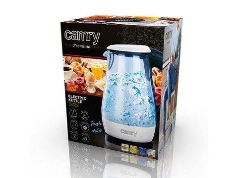 Электрочайник Camry CR 1251 1.7 л стеклянный, с подсветкой