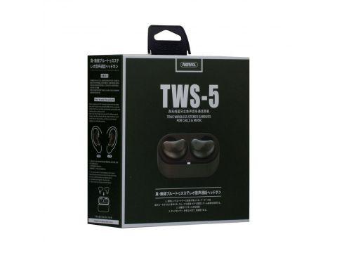 Наушники bluetooth Remax TWS-5 Black