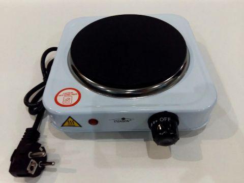 Электроплита одноконфорочная переносная Stenson ME-0011, белый