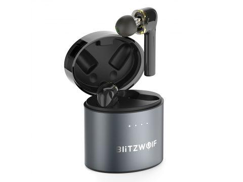 Беспроводные Bluetooth наушники BlitzWolf BW-FYE8 с поддержкой APTX Черный