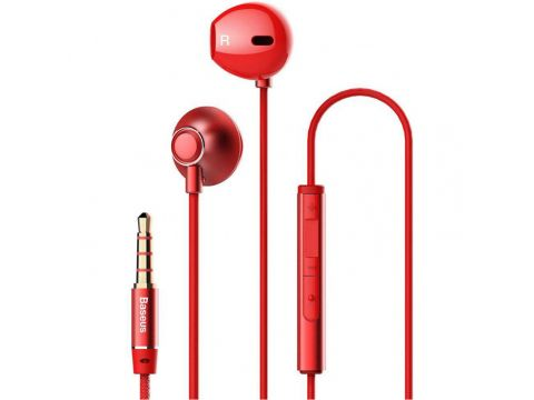 Проводная гарнитура Baseus Encok H06 3.5mm (stereo) (Красный) 718072