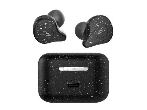 Беспроводные Bluetooth наушники Sabbat E12 Ultra Snow White c поддержкой aptX Черно-белый