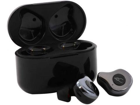 Беспроводные Bluetooth наушники Sabbat E12 Ultra Gunmetal c поддержкой aptX Черный (hpsabe12ultgunm)