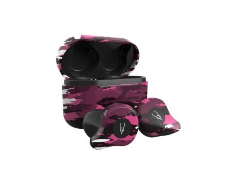 Беспроводные Bluetooth наушники Sabbat X12 Ultra Emirates rock c поддержкой aptX Черно-розовый (hpsabx12ultemir)