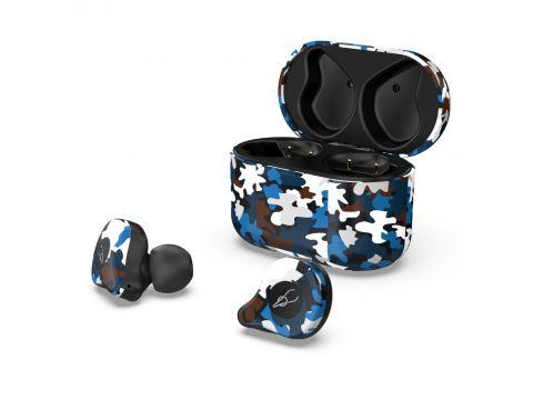Беспроводные Bluetooth наушники Sabbat E12 Ultra Caribbean c поддержкой aptX Черно-синий (hpsabe12ultcari)