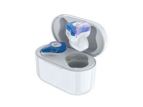 Беспроводные Bluetooth наушники Sabbat X12 Ultra Star cloud c поддержкой aptX Бело-голубой (hpsabx12ultstcl)