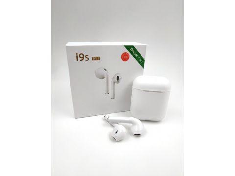 Наушники беспроводныеTWS i9s tws Double V 5.0 EDR Pop-up Stereo Plus White