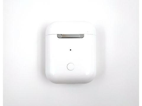 Беспроводные Bluetooth наушники TWS i12 Кейс Power Bank  Sensor Белые