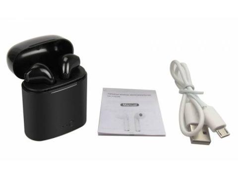 Беспроводные наушники Bluetooth MYKO i7S-3plus TWS V5.0 Black