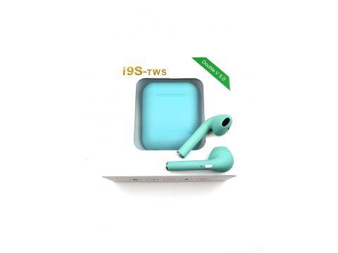 Беспроводные Bluetooth наушники HBQ i9s TWS PRO V5.0 Double Green