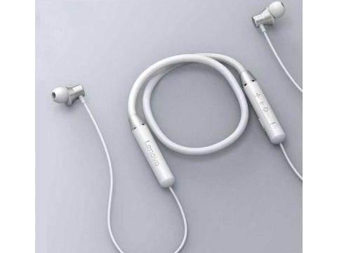 Беспроводные наушники Lenovo HE05 Bluetooth Headset White