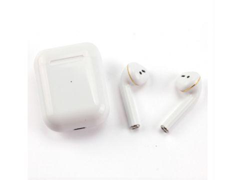 Беспроводные сенсорные Bluetooth наушники Sensor i17 Белые (300558)