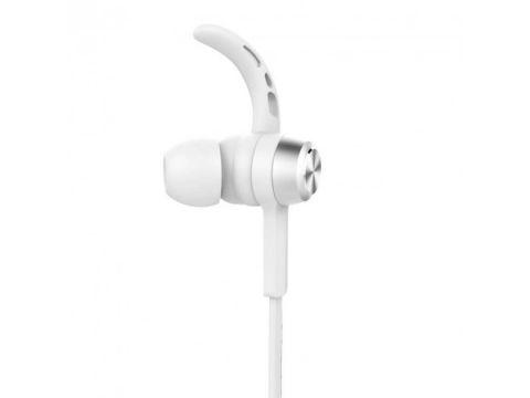 Беспроводные Bluetooth наушники Baseus Encok Magnet Wireless Earphone S06 со встроенным микрофоном Белые (650134596)