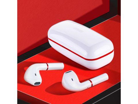 Беспроводные TWS наушники Joyroom JR-T06 mini Bluetooth 5.0 (Белые)