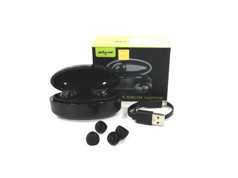 Беспроводная гарнитура с микрофоном ZEALOT H19 Black Bluetooth 5.0 300mAh (4890-14459)