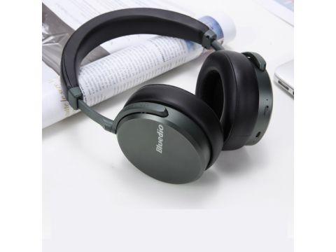 Беспроводные Bluetooth наушники Bluedio V2 с 12 динамиками Черный