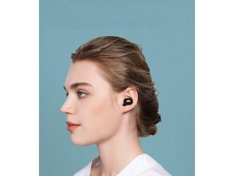 Беспроводные Bluetooth наушники Bluedio T Elf 2 с зарядным боксом Черный