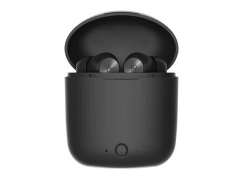 Беспроводные Bluetooth наушники Bluedio Hi с портативным зарядным кейсом Черный