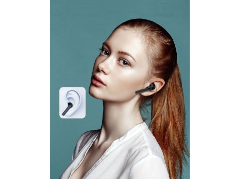 Беспроводные Bluetooth наушники Awei T26 с зарядным боксом Черный