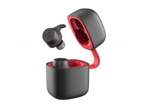 Беспроводные Bluetooth наушники HAVIT G1 PRO с зарядным кейсом Черно-красный