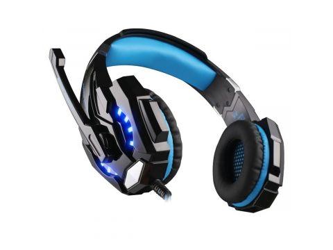 Геймерские наушники Kotion Each G9000 с подсветкой Черно-синий