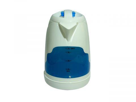 Электрический чайник Maestro на 1.7 л Бело-синий