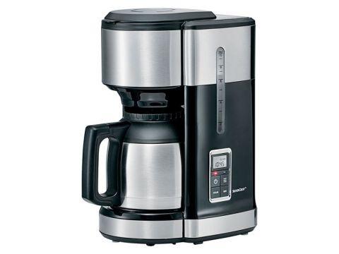 Кофеварка SilverCrest SKMD 1000 A1 с таймером 24 H Черный (01530-1)