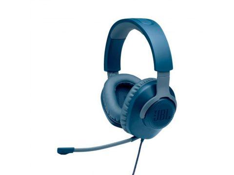 Игровая гарнитура JBL Quantum 100 Blue (JBLQUANTUM100BLU)
