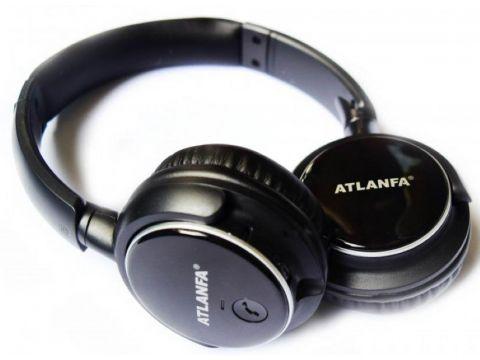 Накладные Bluetooth наушники Atlanfa AT-7612 Черные