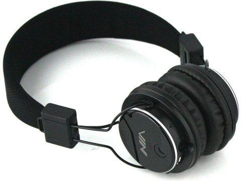 Наушники для телефона с микрофоном NIA Q8-851S беспроводные Черные