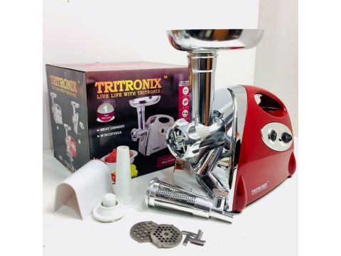 Электрическая мясорубка Tritronix TX-MJ 3030 3000W Красная