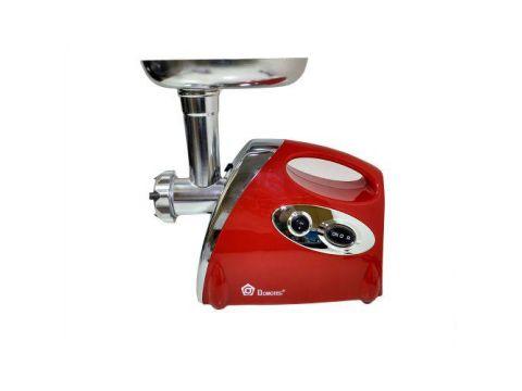 Мясорубка соковыжималка электрическая Domotec MS2019 2400W Red (007207)