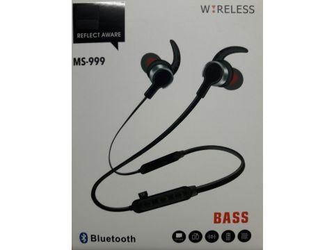 Беспроводные наушники Bluetooth MZH MS-999 Black (008537)