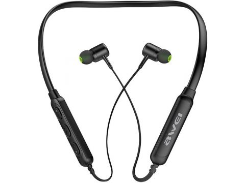 Наушники AWEI G30BL Bluetooth Earphones Black (85095)