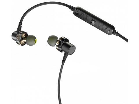 Наушники AWEI X660BL Bluetooth Dual Driver Earphone Black (92200)