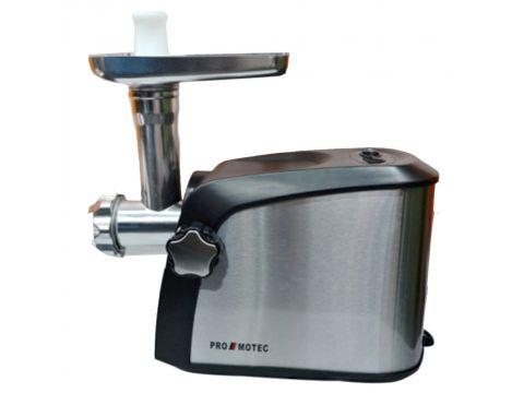Электрическая мясорубка Promotec PM-1055 с насадкой для томатов + соковыжималка (200102)