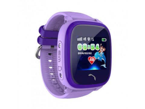 Умные детские часы SBW DF25 Фиолетовые (wfb25pr)