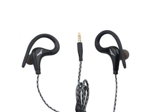 Наушники с микрофоном Fonge S760 Black (1803-5791)