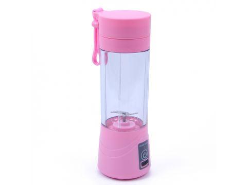 Портативный блендер Juicer Cup Розовый (200561)