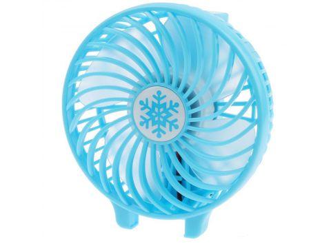 Портативный настольный вентилятор Handy Mini Fan Синий (200713)