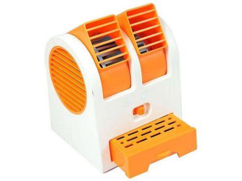 Мини-кондиционер вентилятор Mini Fan UKC HB-168 ARCTIC AIR COOLER Оранжевый