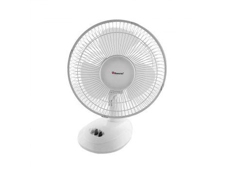 Настольный вентилятор Domotec MS-1624 Белый (MS-1624)