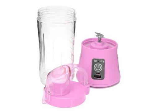 Портативный блендер Qllipin QL-602, розовый