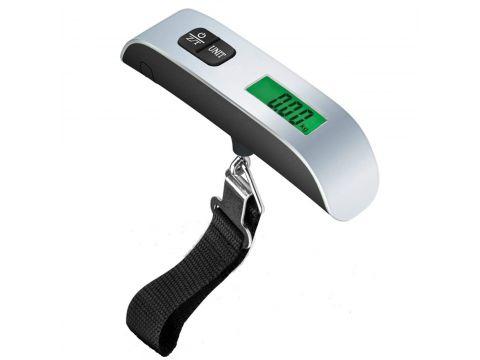 Весы электронные для багажа Lesko PT-106 до 50 кг Silver