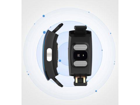 Умный фитнес браслет Lemfo P3 Plus с ЭКГ и тонометром Черный (ftlemp3plusbl)