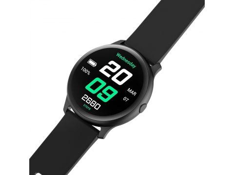 Умные смарт часы King Wear KW13 с AMOLED дисплеем и влагозащитой IP68 Черный (swkingwkw13bl)